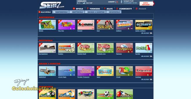 skill7.com - online spielen um echtes geld gegen echte