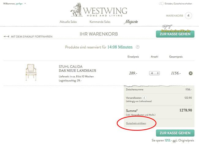 Westwing Gutschein Juli 2019 Rabatt Code