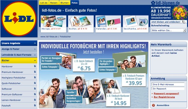 lidl fotos gutschein august 2018 rabatt code. Black Bedroom Furniture Sets. Home Design Ideas